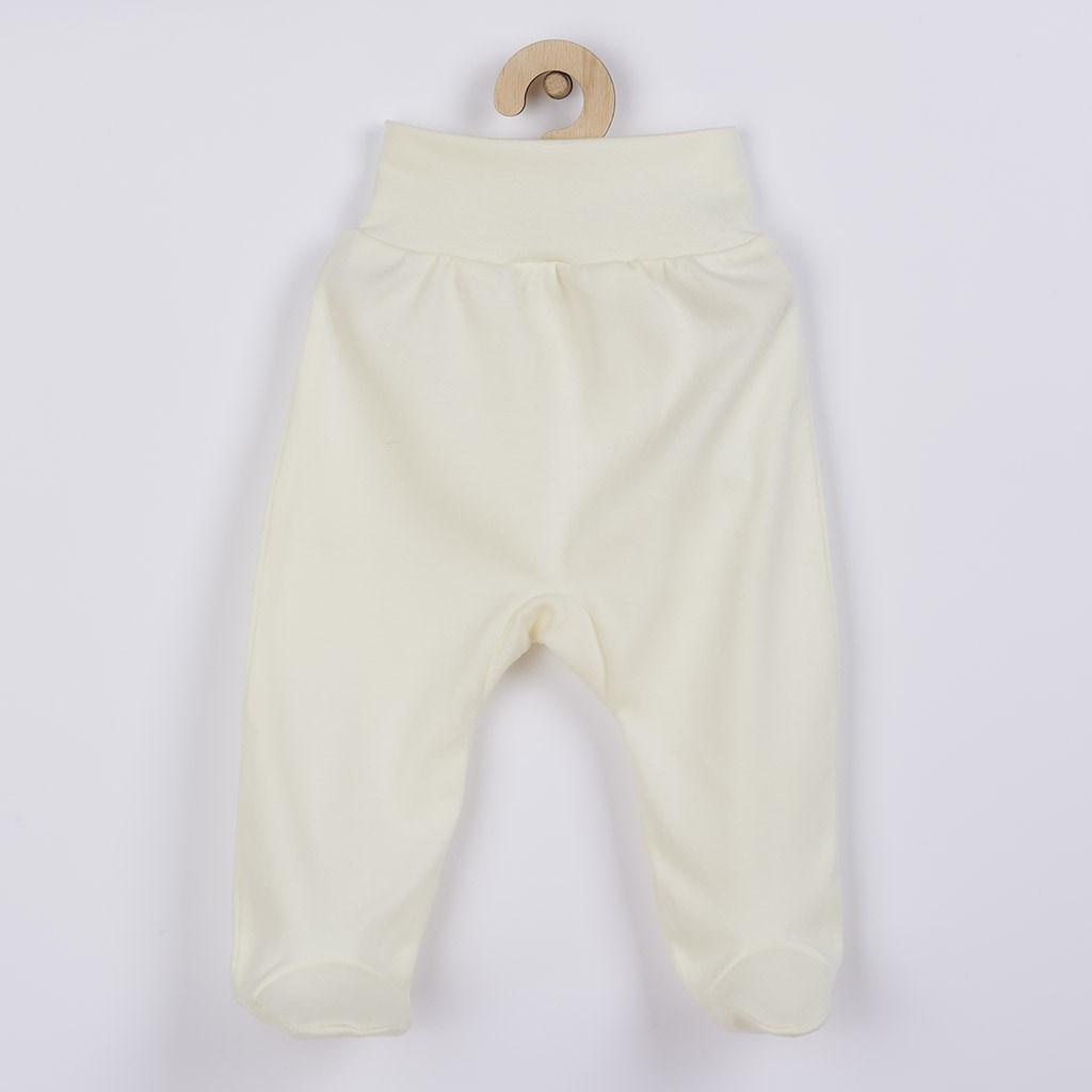 Kojenecké polodupačky New Baby béžové vel. 62 (3-6m)