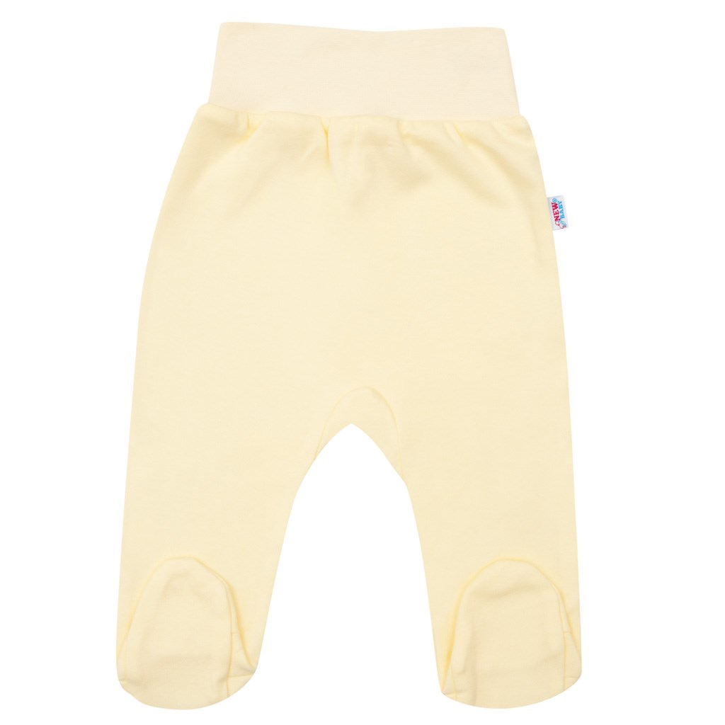 Kojenecké polodupačky New Baby žluté, Velikost: 62 (3-6m)