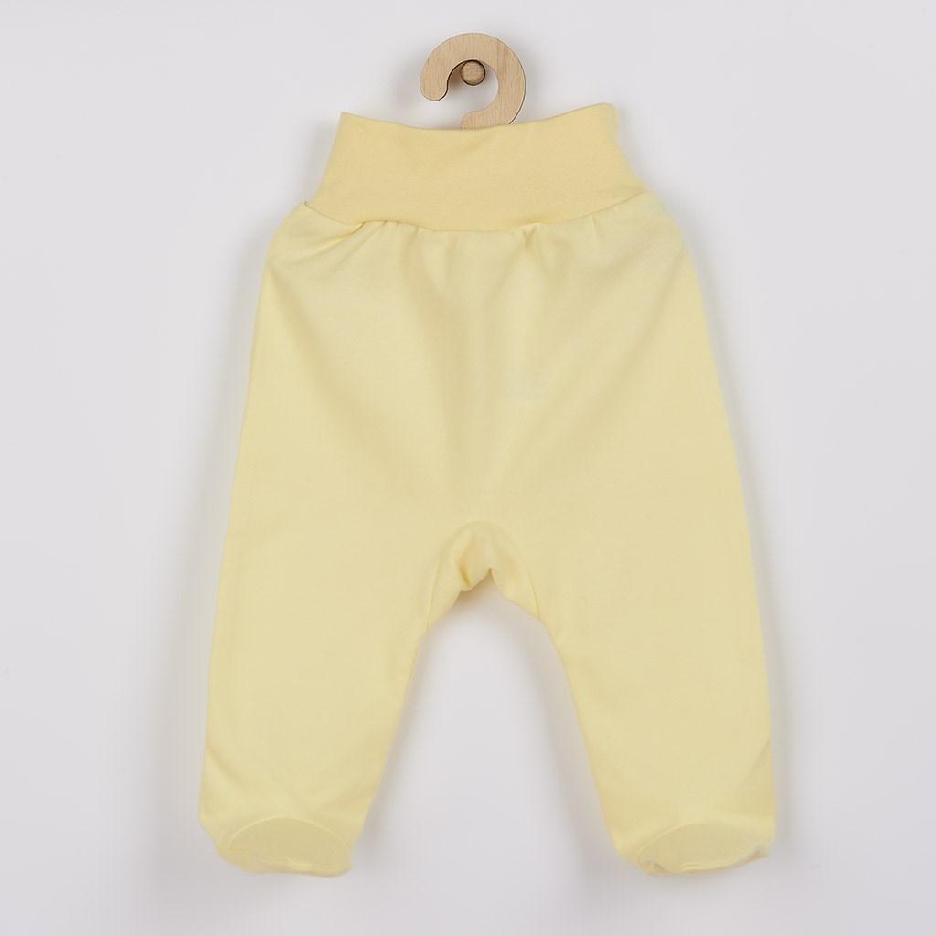 Kojenecké polodupačky New Baby žluté vel. 68 (4-6m)