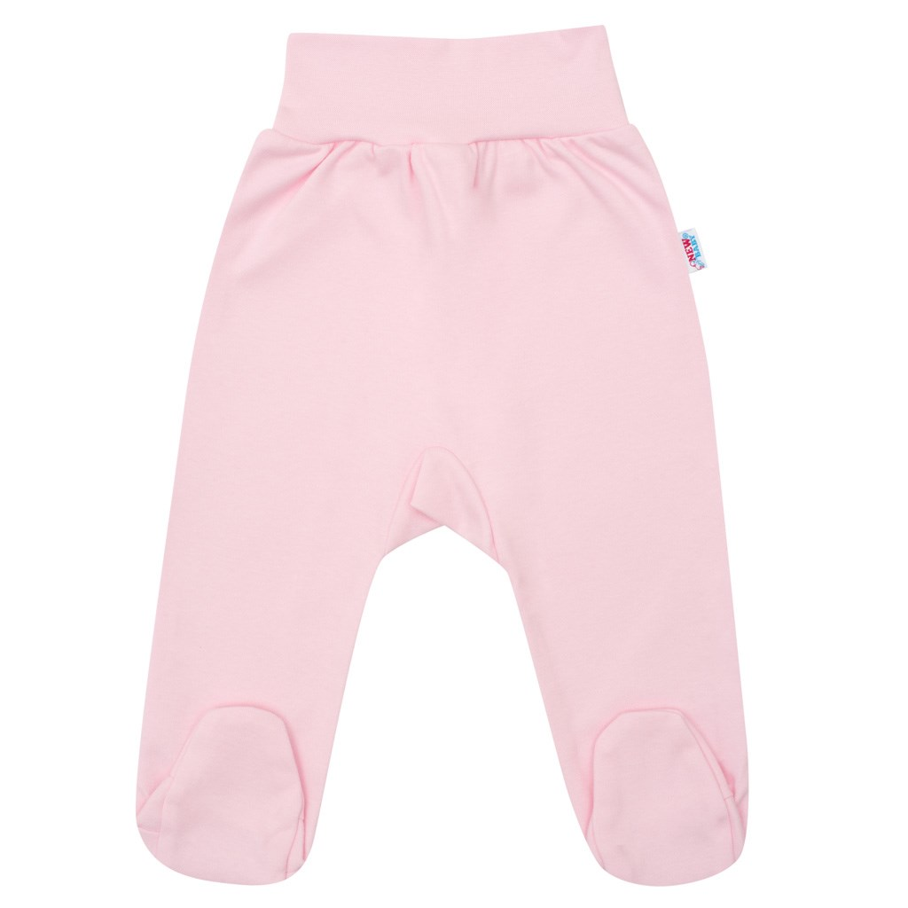 Kojenecké polodupačky New Baby růžové vel. 74 (6-9m)