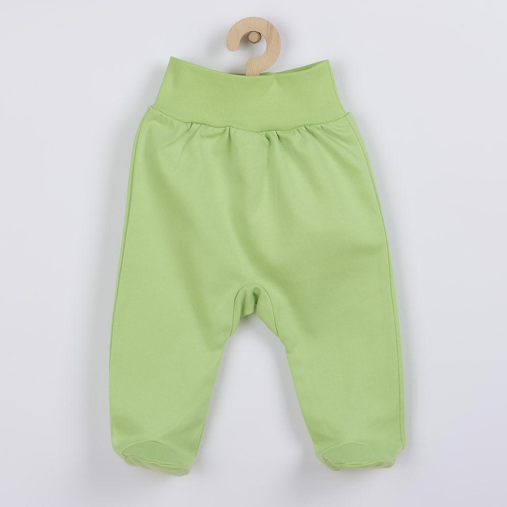 Kojenecké polodupačky New Baby zelené vel. 74 (6-9m)