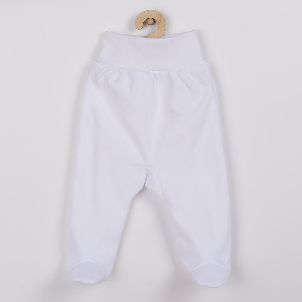 Kojenecké polodupačky New Baby bílé vel. 74 (6-9m)