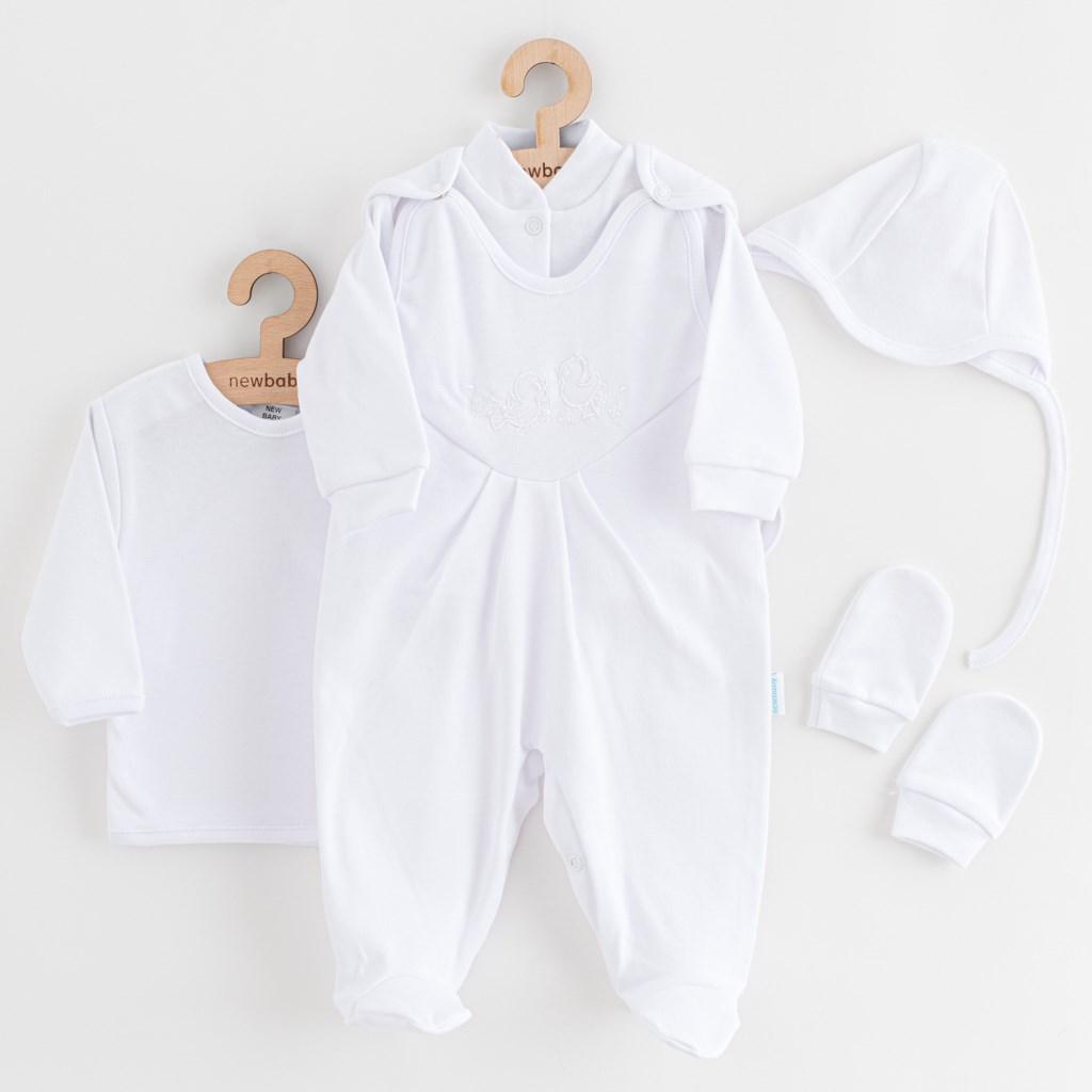 5-ti dílná soupravička New Baby bílá-56 (0-3m)