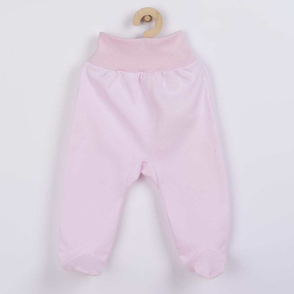Kojenecké polodupačky New Baby růžové vel. 56 (0-3m)