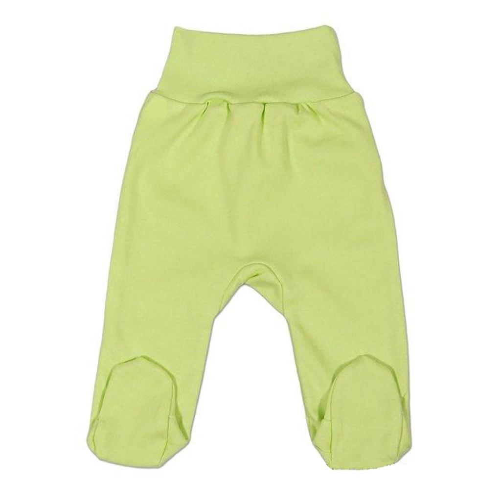 Kojenecké polodupačky New Baby zelené vel. 56 (0-3m)