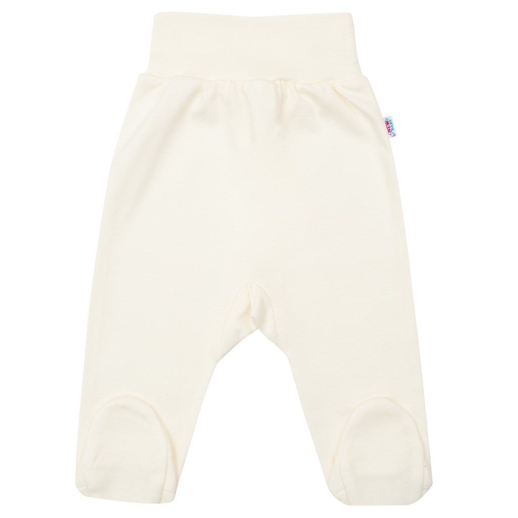 Kojenecké polodupačky New Baby béžové vel. 86 (12-18m)