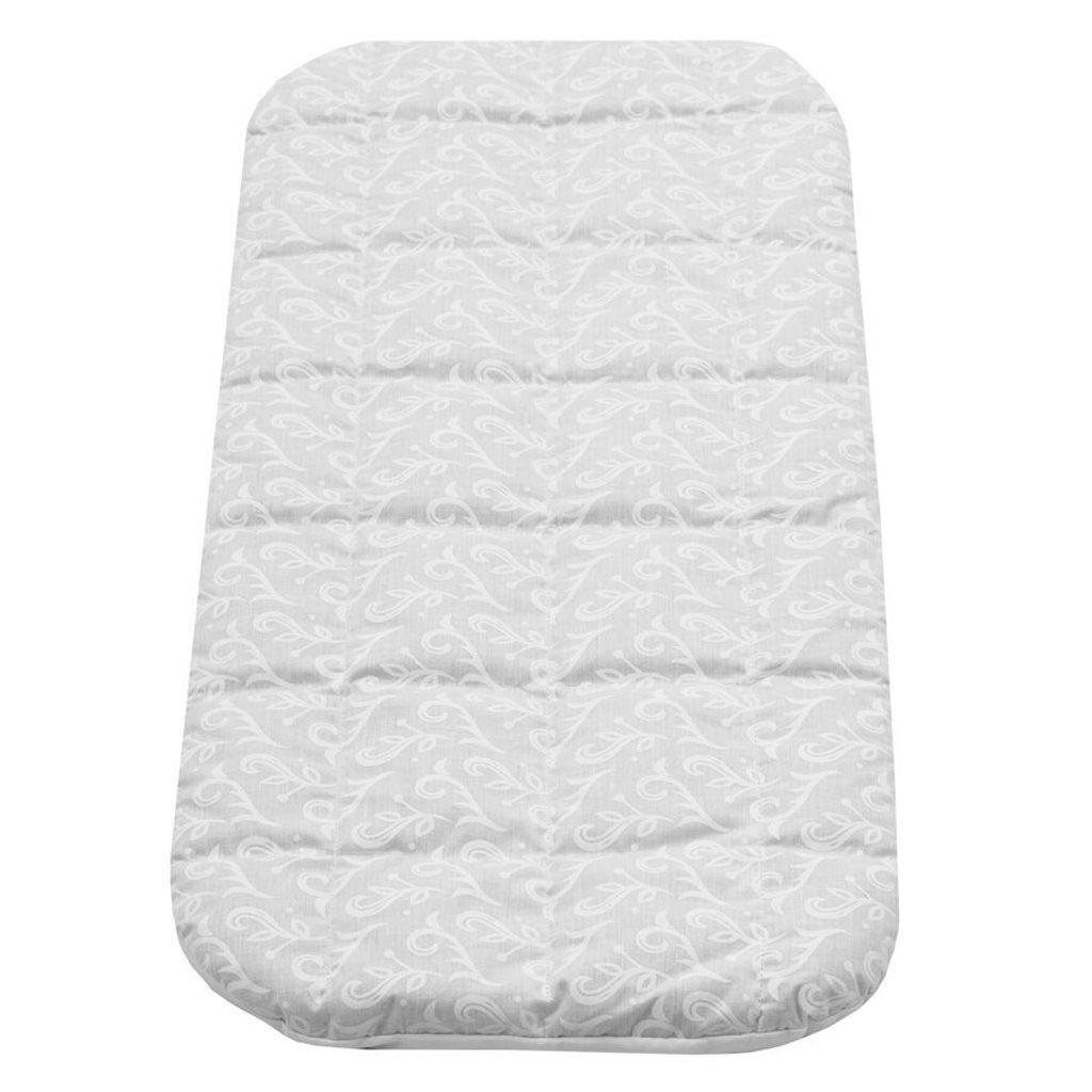 Matrace molitan-pohanka do kočárku bílá