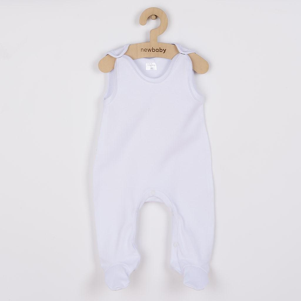 Dupačky bílé New Baby Classic vel. 56 (0-3m)
