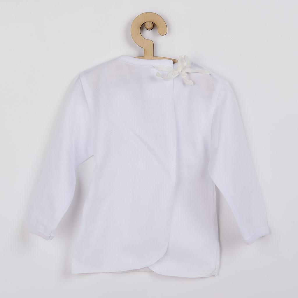 Kojenecká košilka New Baby bílá, vel. 56 (0-3m)