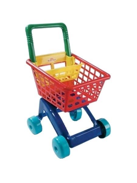 Dětský nákupní košík - zelený