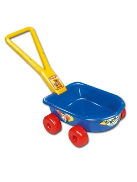 Dětský vozík - červený