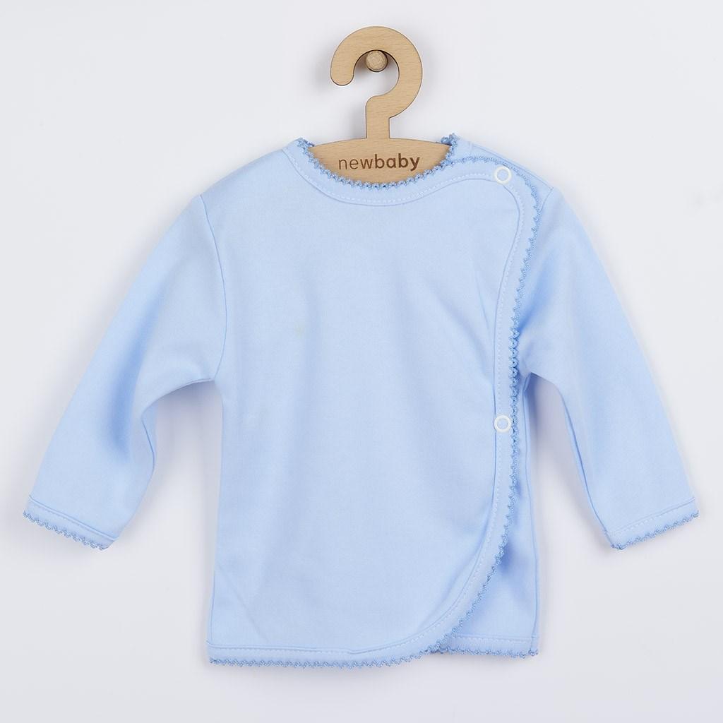 5-ti dílná soupravička New Baby modrá vel. 56 (0-3m)