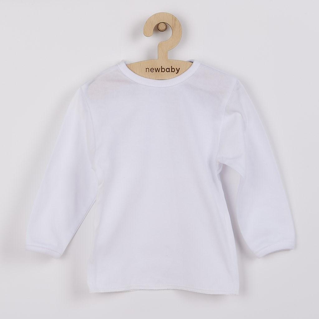 Kojenecká košilka New Baby bílá-50