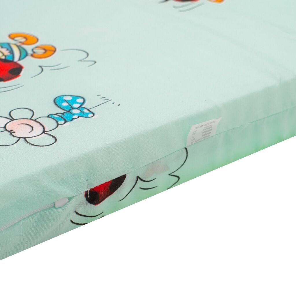 Dětská pěnová matrace New Baby 120x60 zelená - různé obrázky