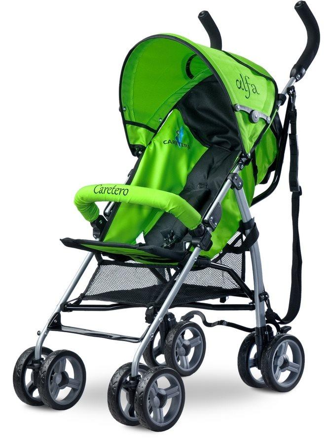Golfový kočárek CARETERO Alfa green 2016