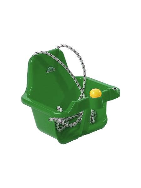 Houpačka s pískátkem zelená