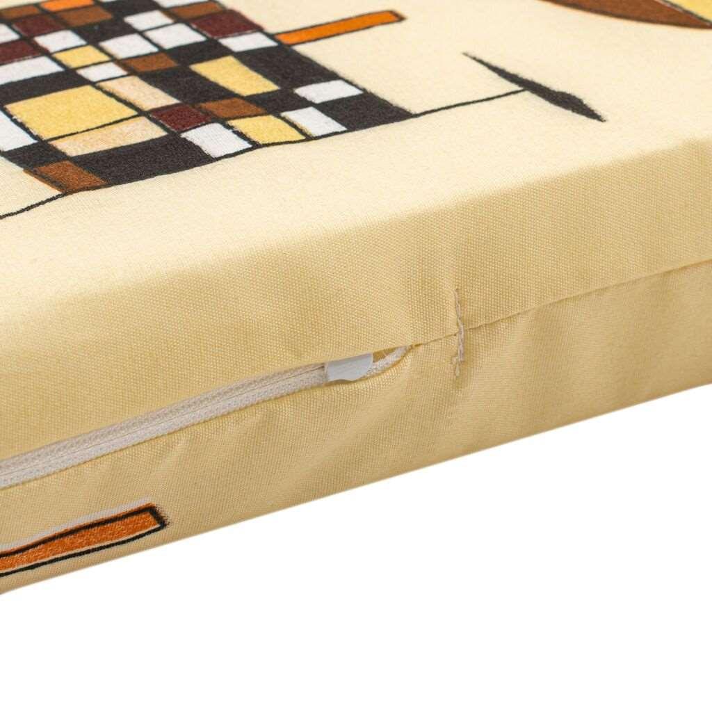 Dětská pěnová matrace New Baby 120x60 žlutá - různé obrázky