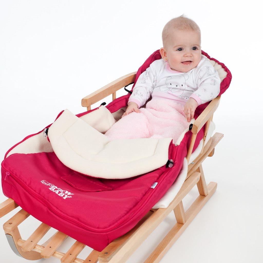 Luxusní fleecový fusák New Baby béžový