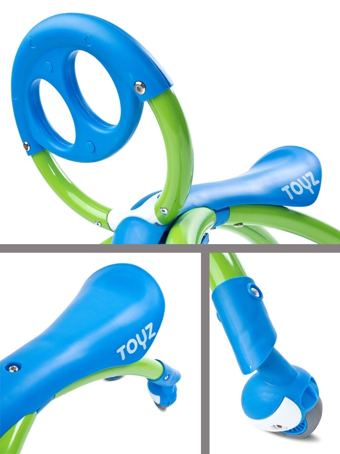 Dětské jezdítko 2v1 Toyz Beetle blue
