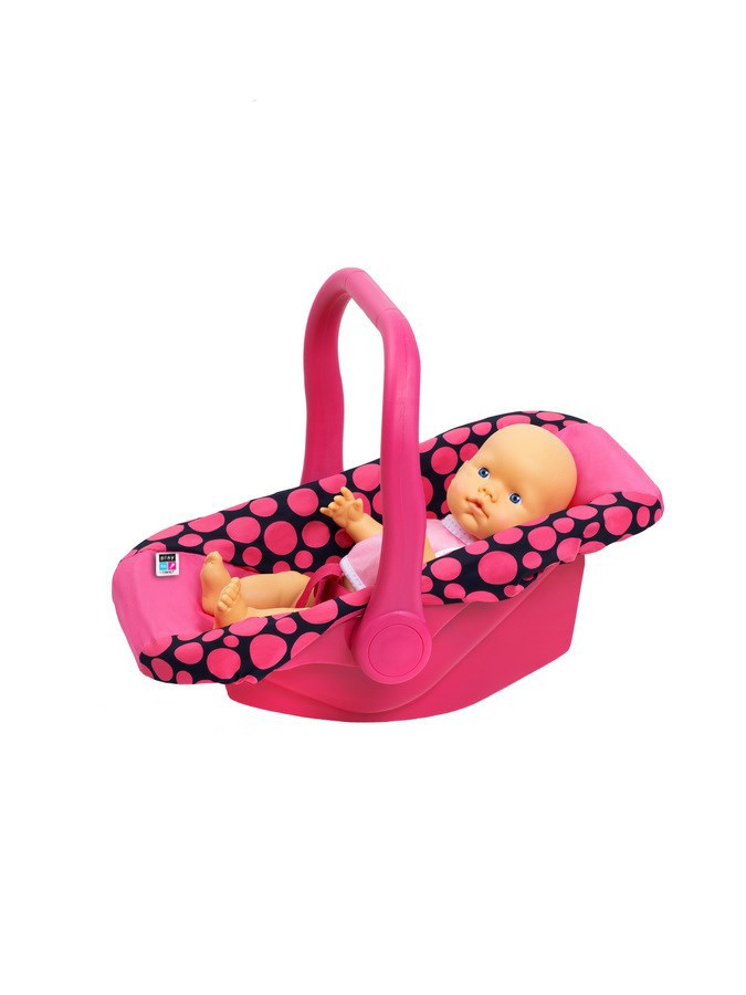 Autosedačka pro panenky PlayTo Anetka růžová