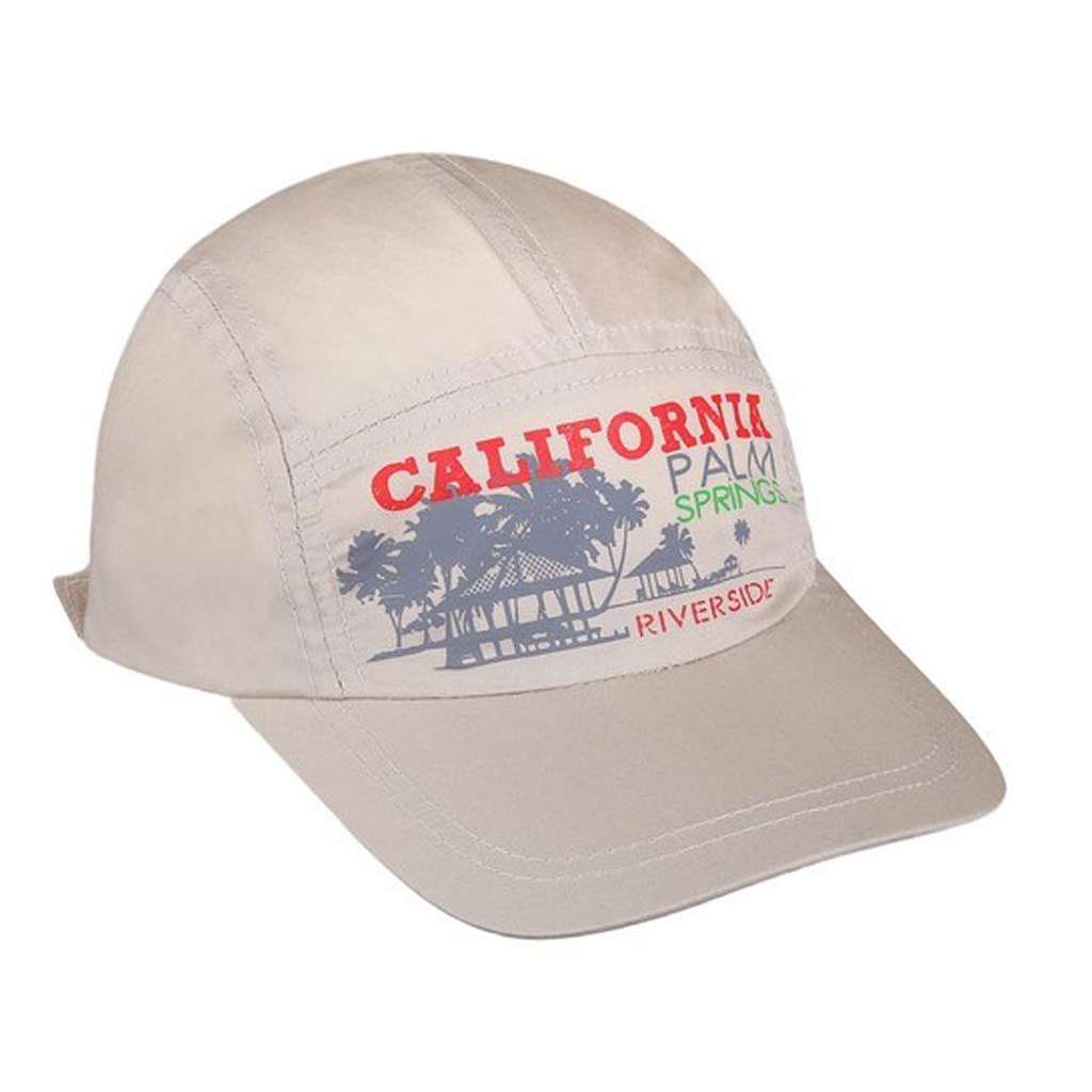 Letní dětská kšiltovka New Baby California béžová, Velikost: 110 (4-5r)