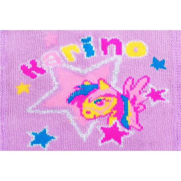 Bavlněné punčocháčky New Baby 3xABS fialové karino vel. 104 (3-4r)