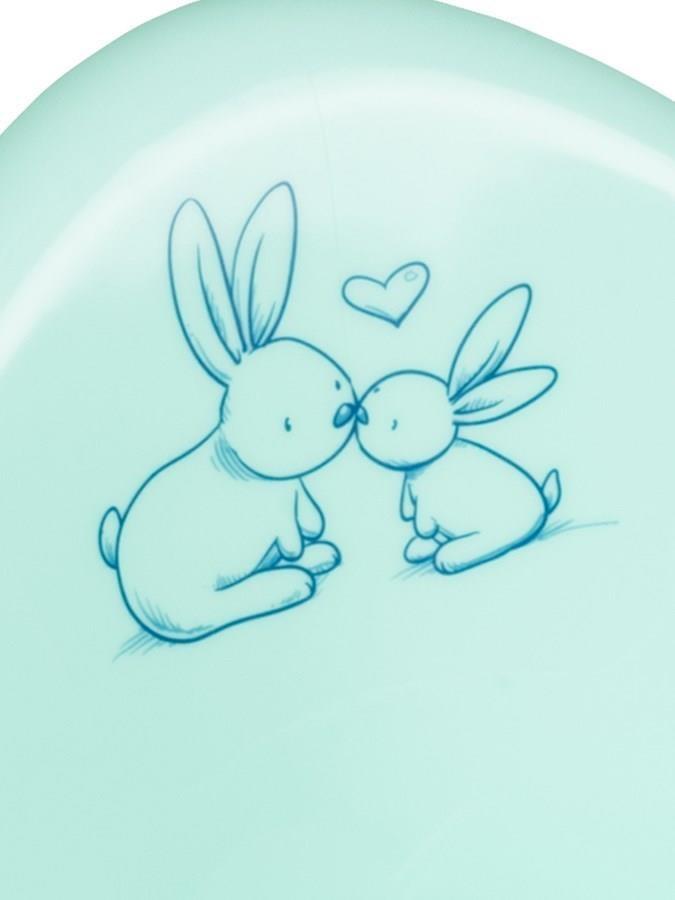 Lehátko ke koupání Bunny mátové