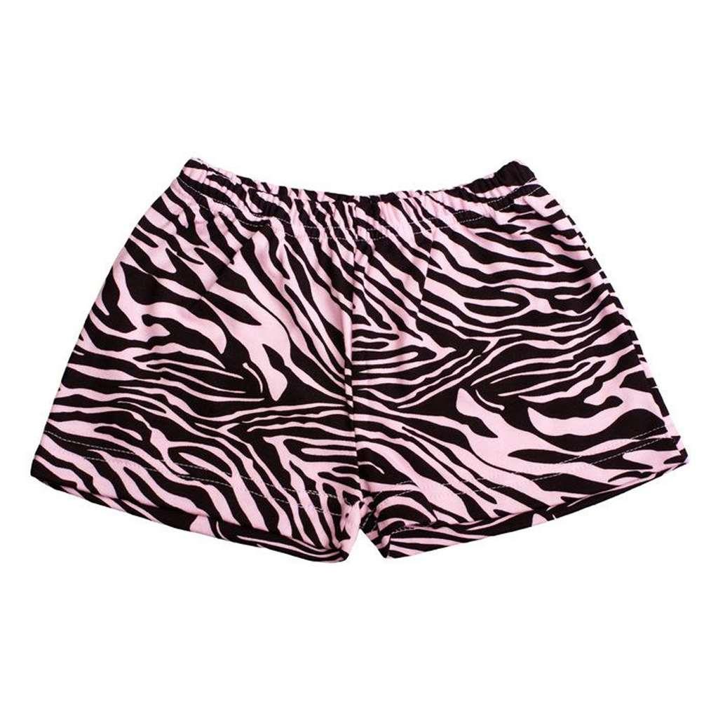 Dětské kraťasy New Baby Zebra růžové, Velikost: 128 (7-8 let)