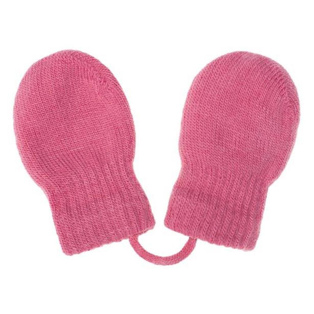 Dětské zimní rukavičky New Baby růžové