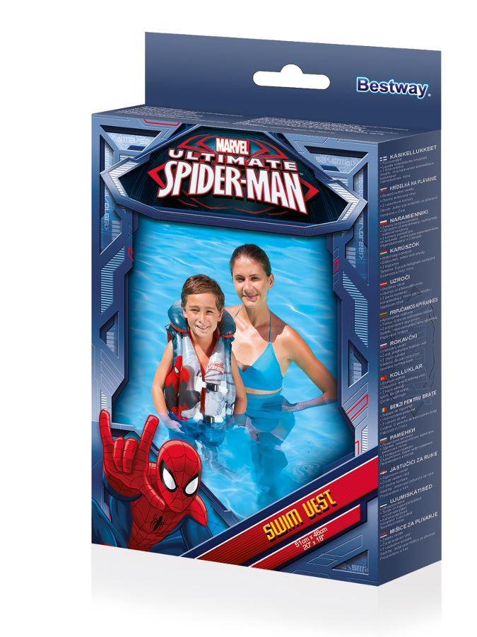 Dětská nafukovací vesta Bestway Spider-Man