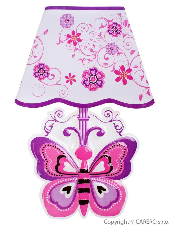 Svítící samolepící LED lampička Bayo motýl