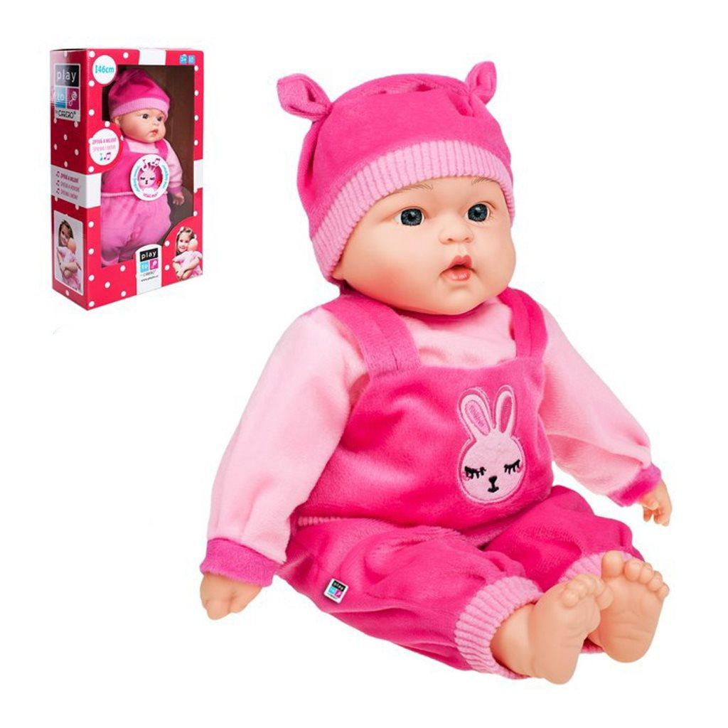 Česky mluvící a zpívající dětská panenka PlayTo Terezka 46 cm