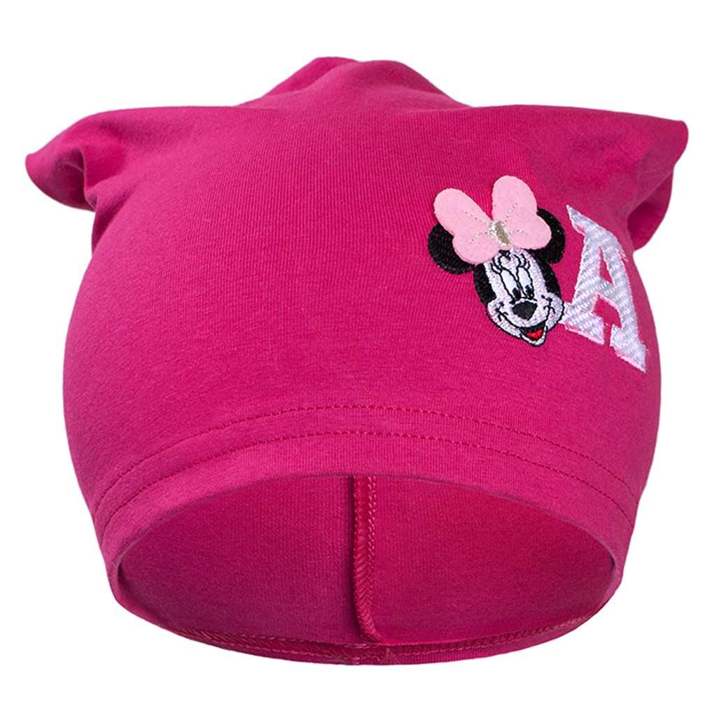 Podzimní dětská čepička New Baby Minnie růžová vel. 110 (4-5r)