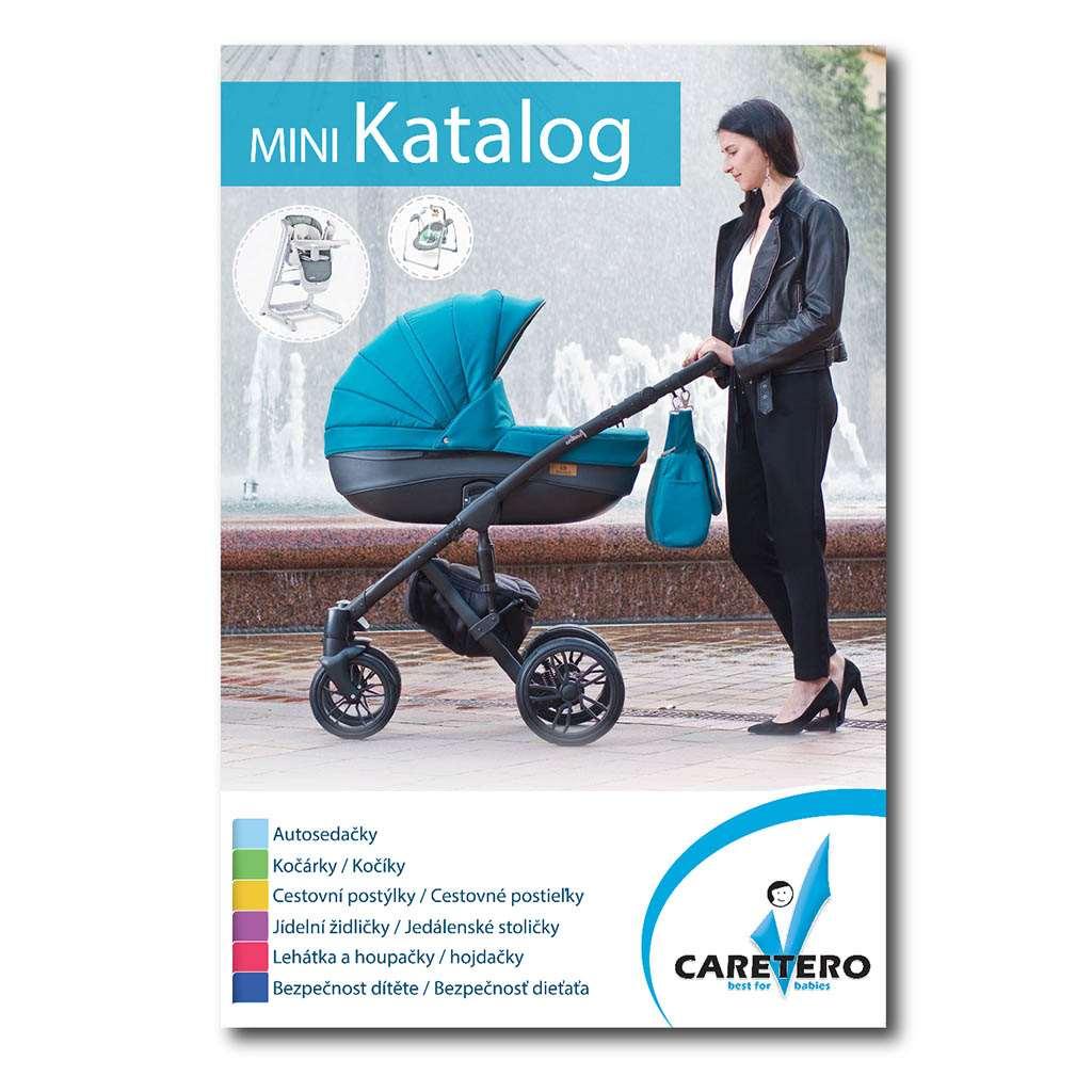 Propagační materiály Caretero - katalog 2019 balení-50 ks