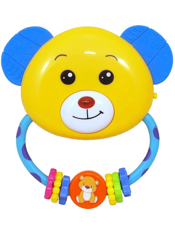 Dětské chrastítko s melodií Baby Mix medvídek