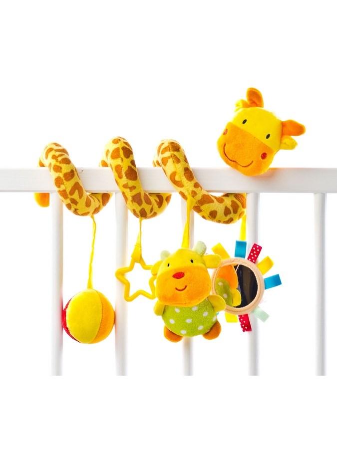 Hračka na postieľku špirála Žirafa