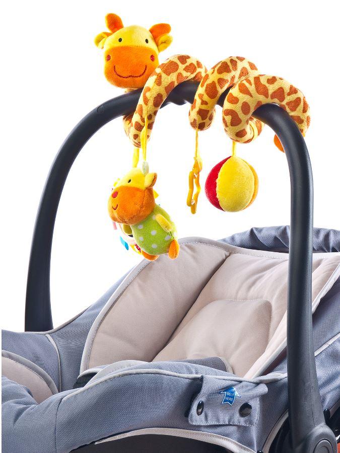 978cadfa2c2 Hračka na postýlku spirála Sensillo Žirafa