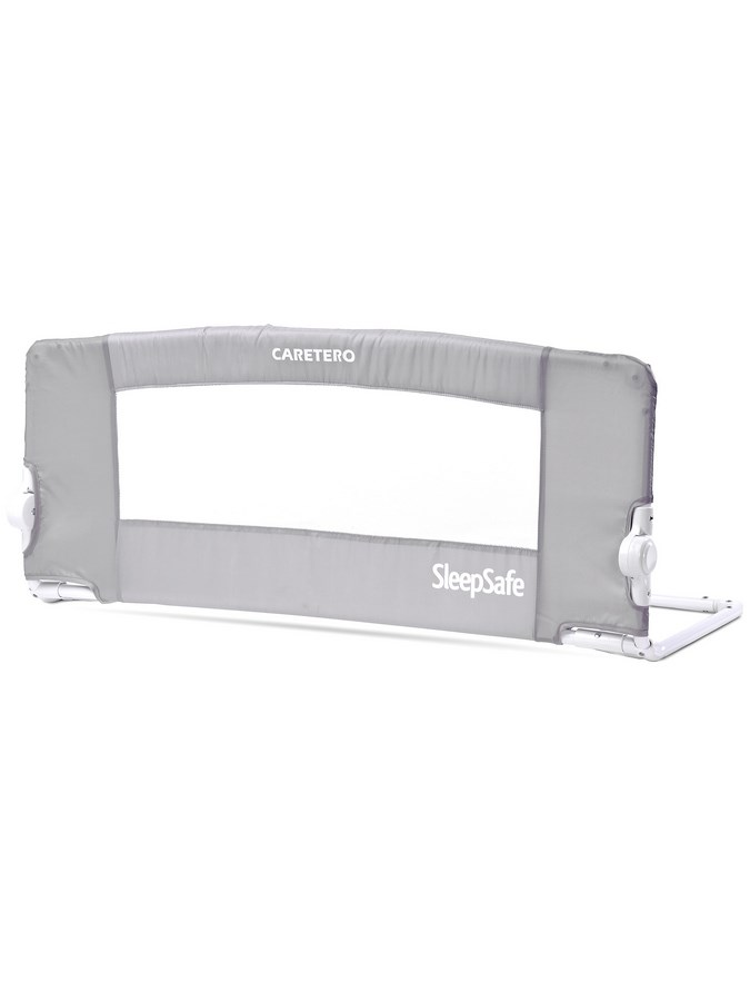 Mantinel do postýlky CARETERO SleepSafe grey