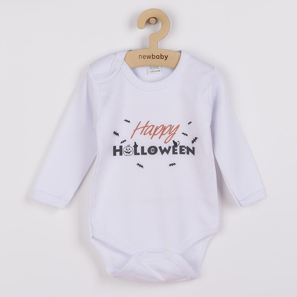 Body s potiskem New Baby Happy Halloween, vel. 74 (6-9m)