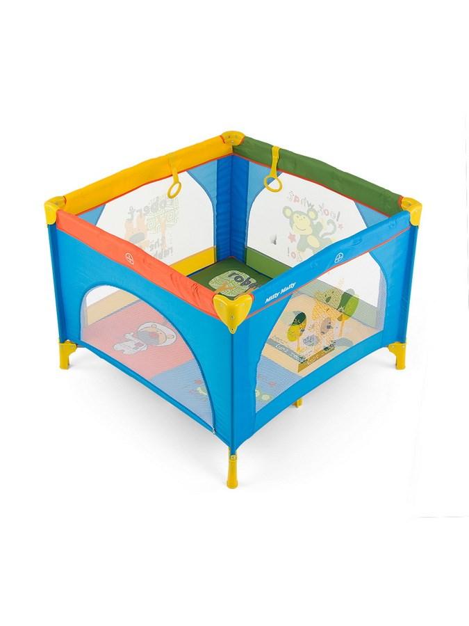 Dětská skládací ohrádka Milly Mally Multicolor