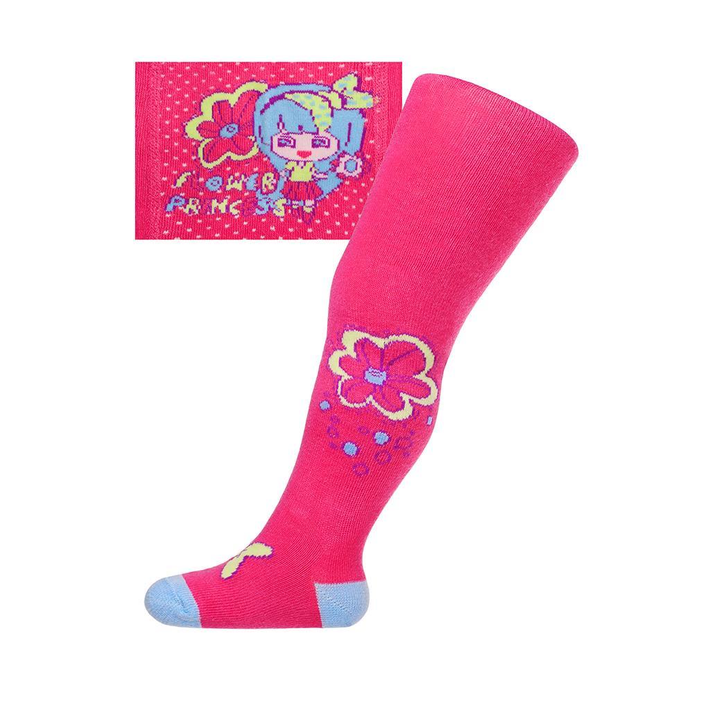 Bavlněné punčocháčky New Baby růžové lala