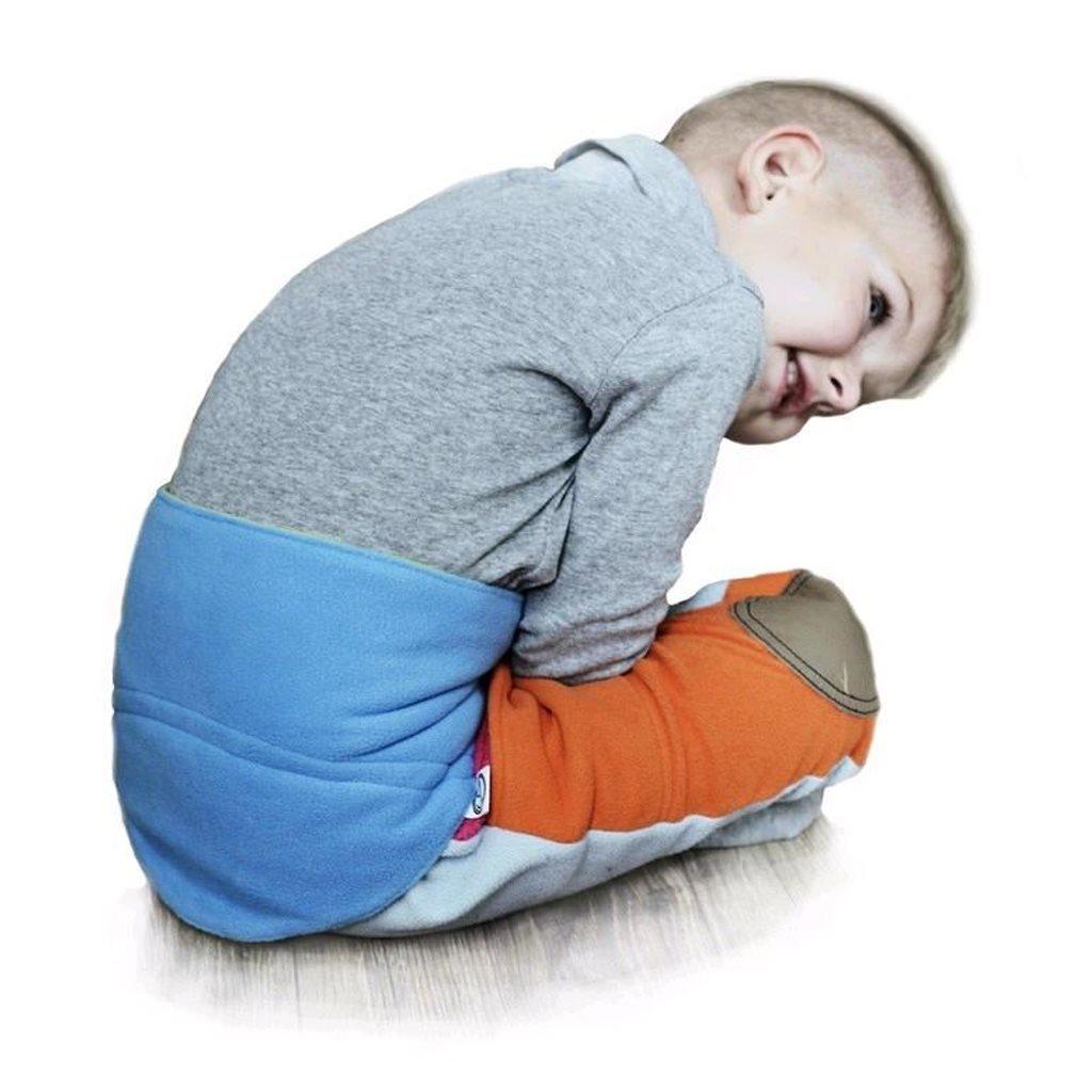 Dětský bederňáček 0-5 let VG modro-limetkový-0-5 let