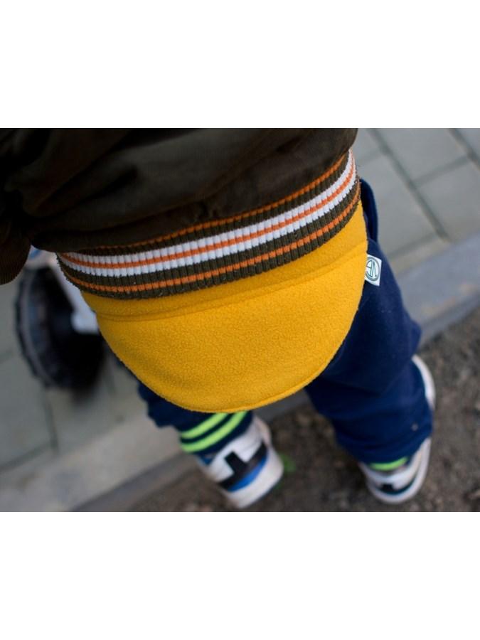 Dětský bederňáček 0-5 let VG modro-limetkový, vel. 0-5 let