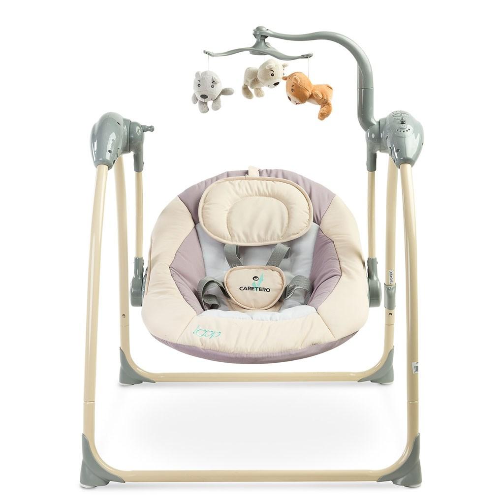 Dětská houpačka CARETERO LOOP beige