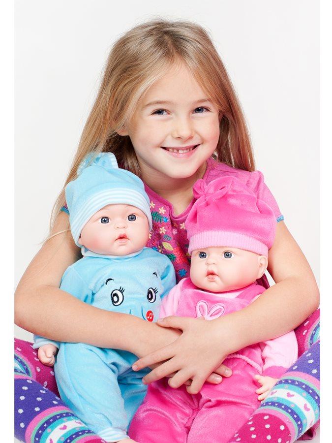 Polsky mluvící a zpívající dětská panenka PlayTo Agatka 46 cm