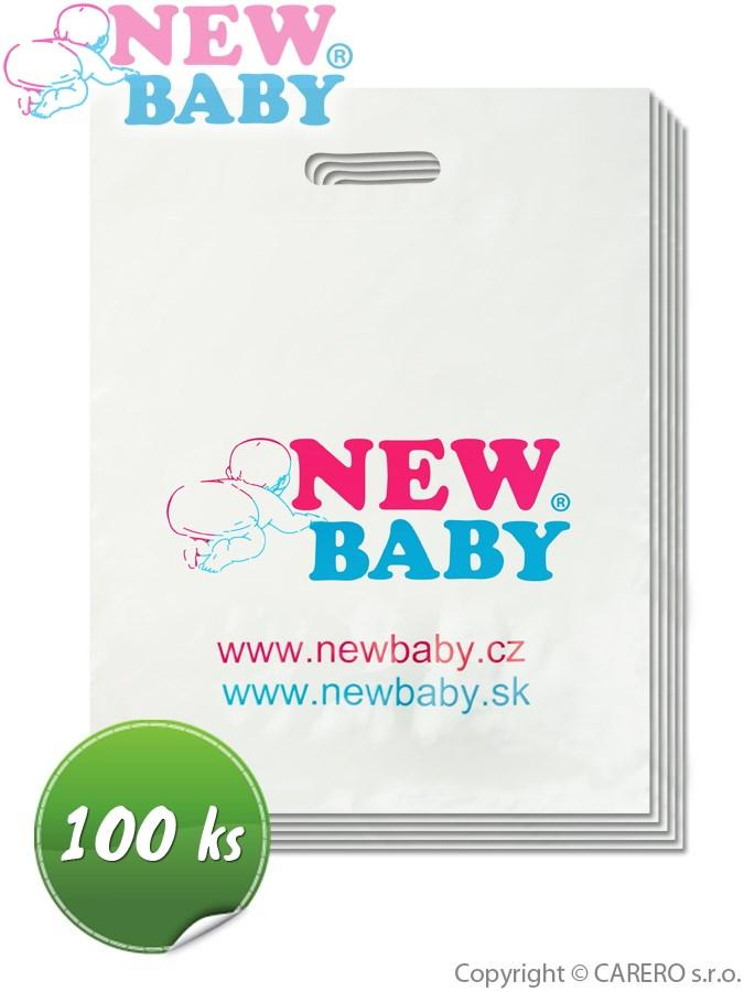 Propagační materiály-igelitové tašky New Baby balení-100 ks