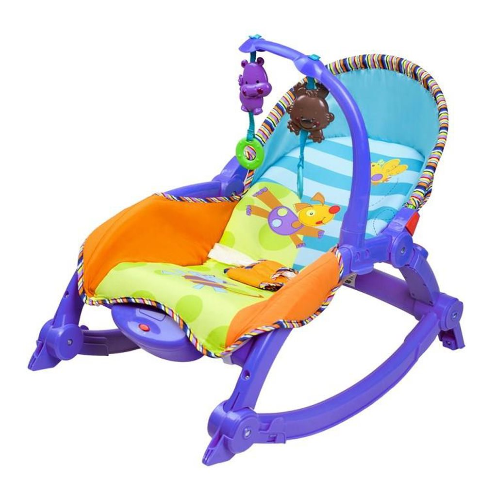 Dětské lehátko 2v1 Bayo blue