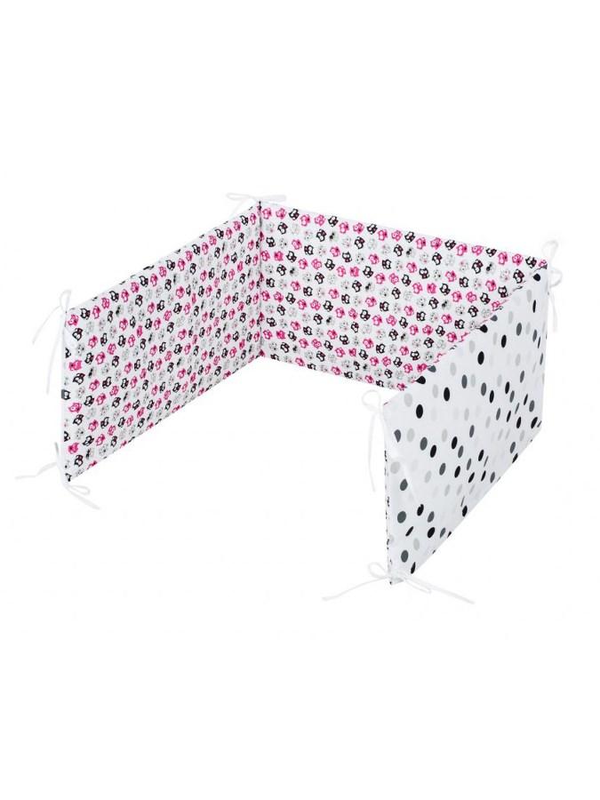 5-dílné ložní povlečení Belisima Koťátka 100/135 růžové