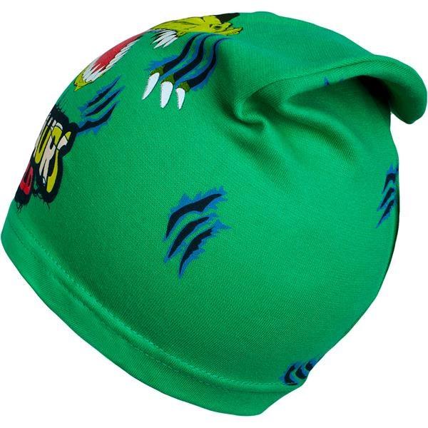 Jarní dětská čepička New Baby dino zelená