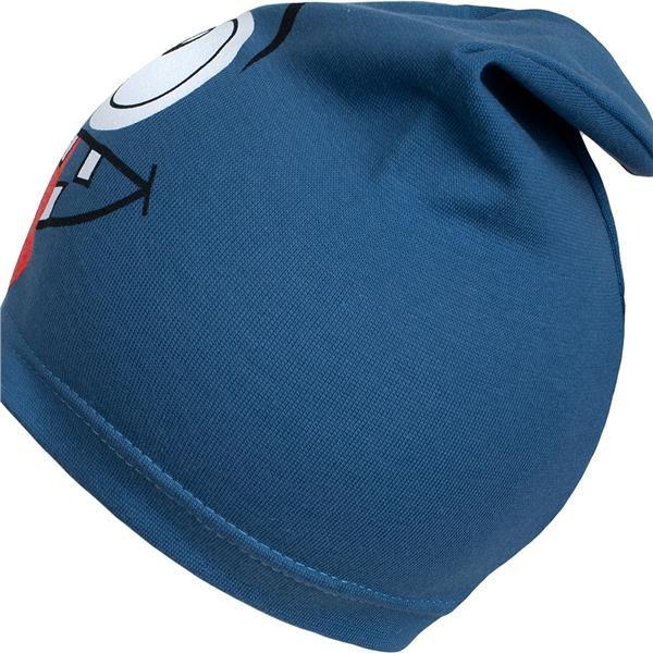 Jarní dětská čepička New Baby smíšek modrá